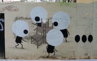Современные герои уличной живописи от Escif