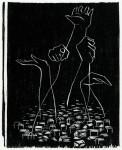 Гравюра | Ma Desheng | Крик Народа. 1979
