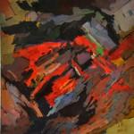 Живопись   Александр Дмитренко   Композиция с красным