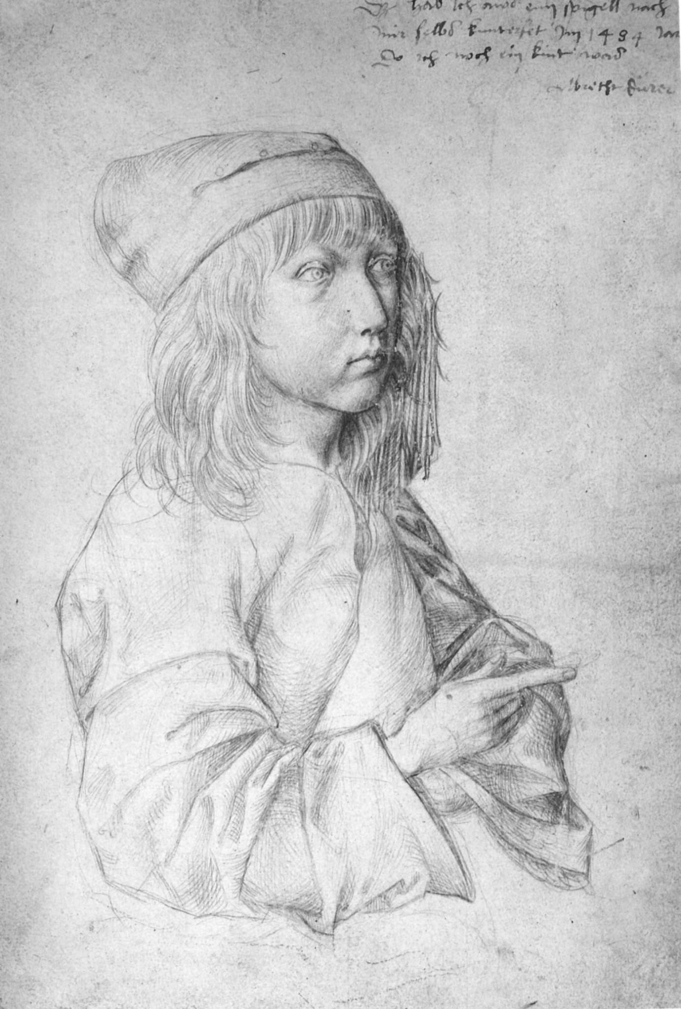 Albrecht Dürer (1484. Автопотрет в 13 лет)