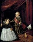 Живопись | Диего Веласкес | Don Baltasar Carlos with a Dwarf. 1632
