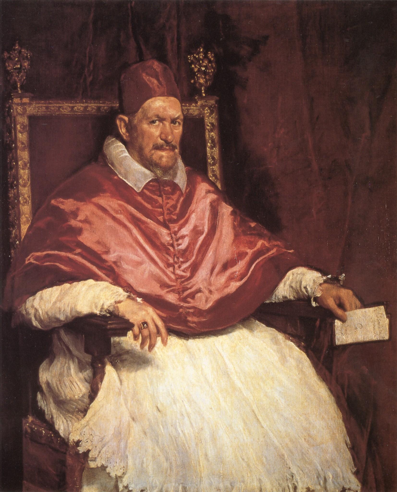 Diego Velázquez (Portrait of Pope Innocent X. 1650)