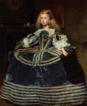 Живопись | Диего Веласкес | Портрет инфанты Маргариты в синем платье, 1660