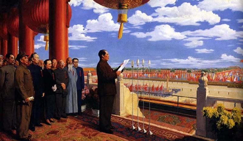 Современное Китайское Искусство: 30-летний путь от социализма к капитализму. Часть 1