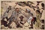 Живопись | James Ensor | Anger. 1904