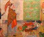 Живопись | James Ensor | Astonishment of the Mask Wouse. 1889