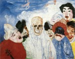 Живопись | James Ensor | Death and the Masks. 1897