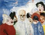 Живопись | James Ensor | Death and the Masks. 1897