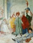 Живопись | James Ensor | Máscaras singulares. 1892