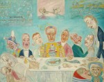 Живопись | James Ensor | The Banquet of the Starved. 1915