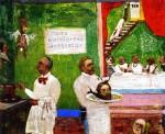 Живопись | James Ensor | The Dangerous Cooks. 1896