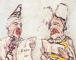 Живопись | James Ensor | The Grotesque Singers. 1891