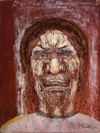 Живопись | James Ensor | The Man of Sorrows. 1891