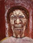 Живопись | James Ensor | The Man of Sorrows. 1891