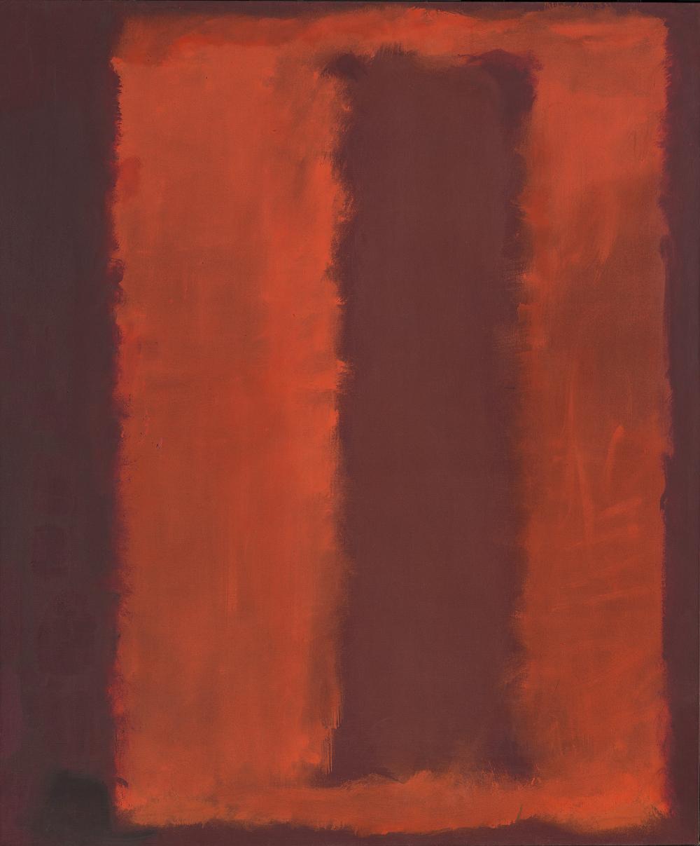 Marc Rothko (Скетч для фрески для ресторана Four Seasons (