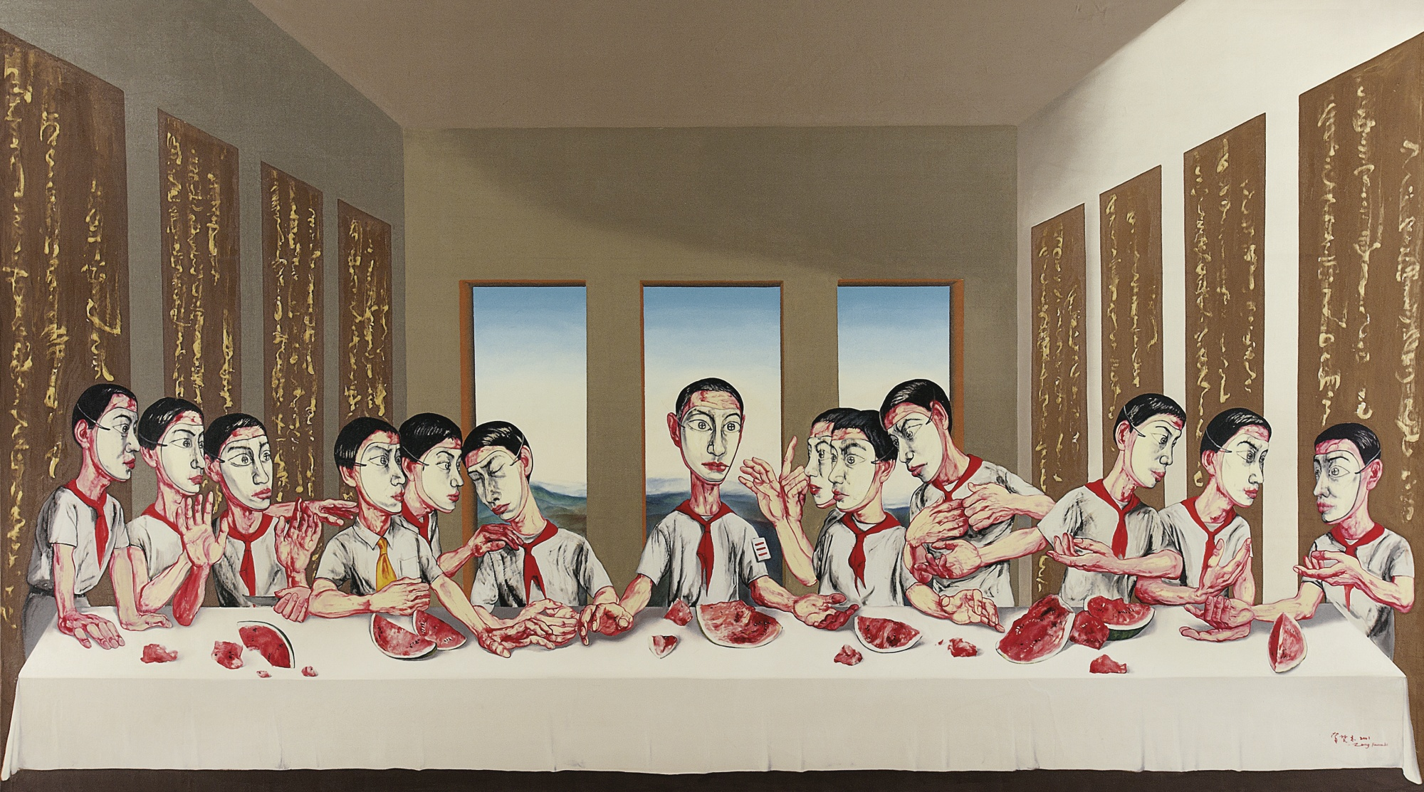 Zeng Fanzhi (The Last Supper)