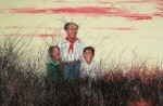 Живопись | Zeng Fanzhi | Chairman Mao with us