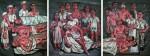 Живопись | Zeng Fanzhi | Hospital triptych No.2