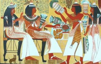 Древний Египет. Комикс о повседневной жизни египтян