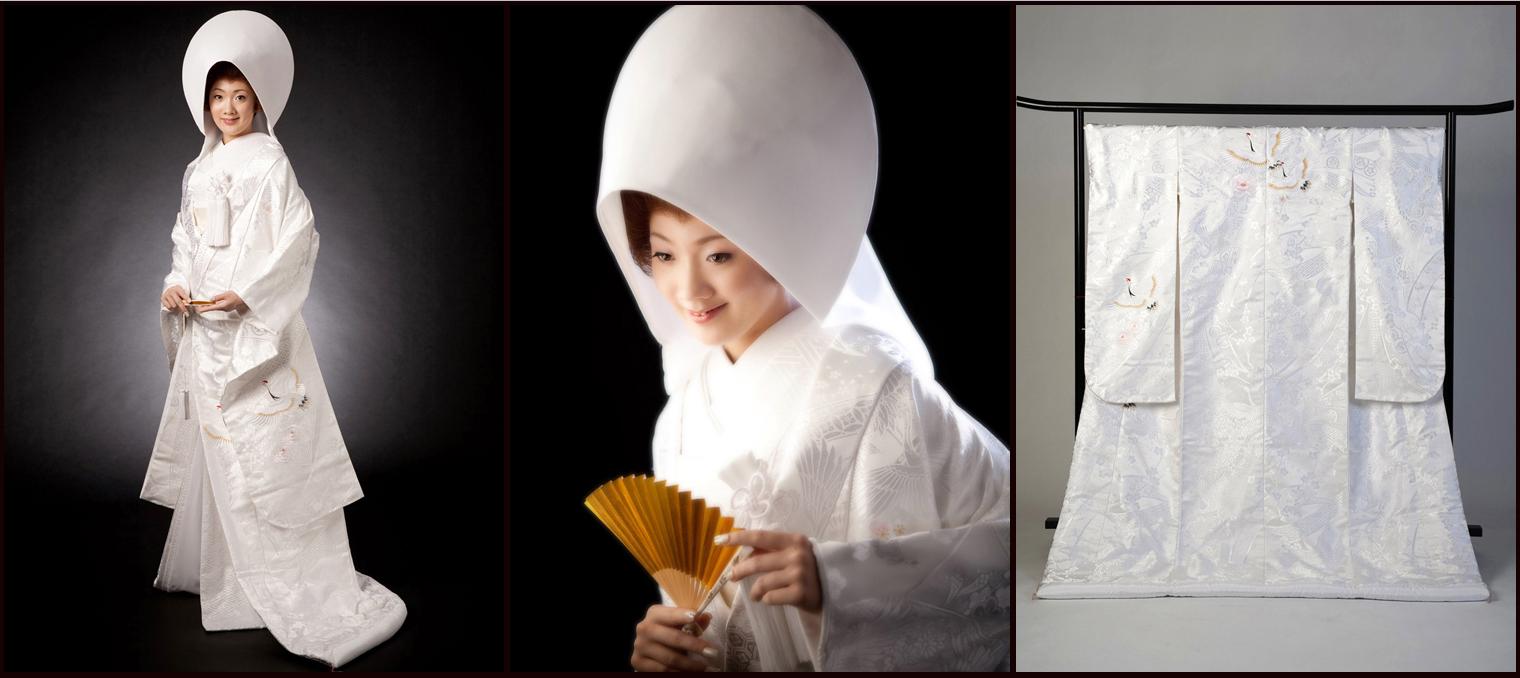 Традиционное Кимоно Невесты