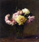 Живопись | Анри Фантен-Латур | Roses