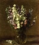 Живопись | Анри Фантен-Латур | Larkspur, 1887