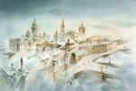 Живопись | Константин Кузема | Есть город золотой. 2012