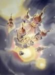 Живопись | Константин Кузема | Смольный собор. Открытый космос. 2007