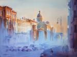 Живопись | Константин Кузема | Солнце в городе. 2014