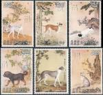 Живопись | Giuseppe Castiglione (Lang Shining) | Postage stamp | 05