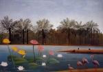 Живопись | Анри Руссо | Фламинго