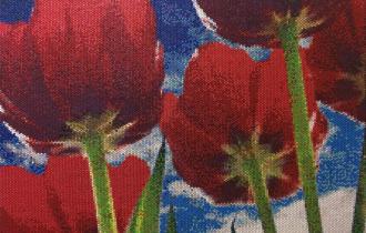 Брэдли Харт. Картины из упаковочного материала