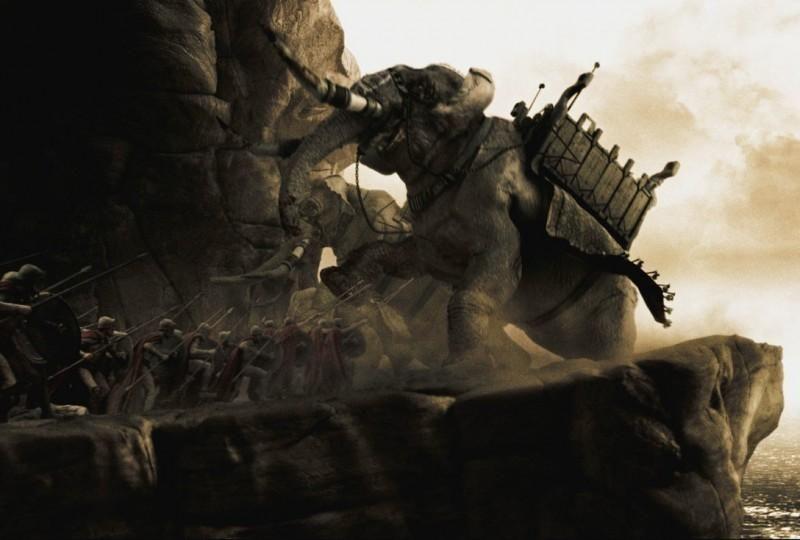 Кадр из к/ф «300 спартанцев»