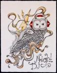 Иллюстрация | Alex Sander | Night DJ