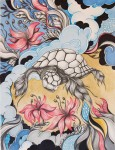 Иллюстрация | Alex Sander | Turtle Flight