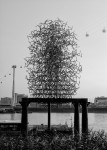 Скульптура | Antony Gormley | Quantum Cloud | 01