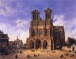 Архитектура   Domenico Quaglio II   Cathédrale Notre-Dame de Reims