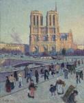 Архитектура | Maximilien Luce | Notre Dame de Paris
