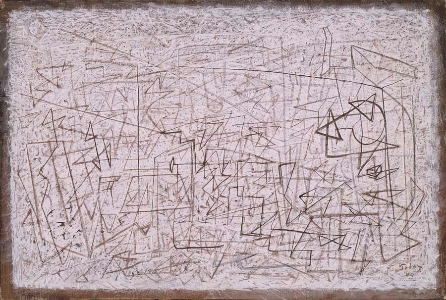 Mark Tobey. Eventuality