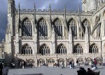 Архитектура | Bath-Abbey | Контрфорс