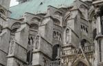 Архитектура | Cathédrale Notre-Dame de Chartres | Контрфорс