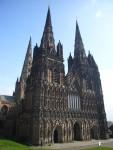 Архитектура   Lichfield Cathedral