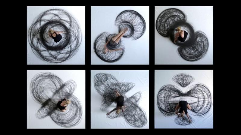 Танец, запечатленный в плоскости