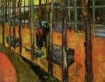 Живопись | Винсент ван Гог | Аликамп. Римский Некрополь. Ноябрь, 1888