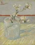 Живопись | Винсент ван Гог | Ветвь цветущего миндаля в вазе. Март, 1888