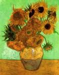 Живопись | Винсент ван Гог | Двенадцать подсолнухов в вазе, 1888