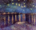 Живопись | Винсент ван Гог | Звёздная ночь над Роной, 1888