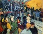 Живопись | Винсент ван Гог | Зрители на Арене, 1888