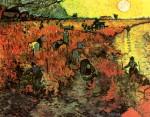 Живопись | Винсент ван Гог | Красные винорадники, 1888