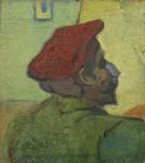 Живопись | Винсент ван Гог | Поль Гоген. Человек в красном берете, 1888